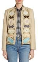 Tory Burch Damian Silk Jacket
