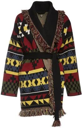Alanui Seattle Sound Knit Cashmere Jacket