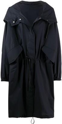 Jil Sander Button-Up Raincoat