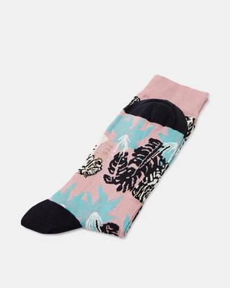 Ted Baker MILAM Tiger jungle print socks