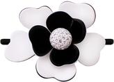 Smallflower Moliabal Milano Black +White Diamond Flower Hair Tie