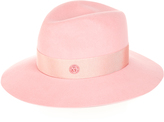 Maison Michel Henrietta rabbit-fur felt hat