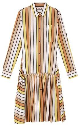 Thumbnail for your product : Marni Flared skirt shirt dress