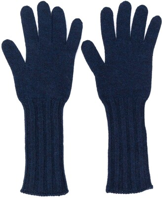 Pringle ribbed Scottish gloves