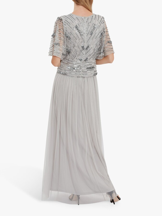 Thumbnail for your product : Gina Bacconi Rachel Embellished Maxi Dress
