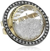 "Moritz Glik Kaleidoscope"" 18K Gold and Diamond Floating-Orbit Ring, Size 7"