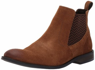 Stacy Adams Men's Shafer Plain Toe Chelsea Slip-On Boot