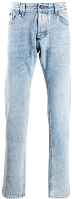Philipp Plein Acid Wash Jeans