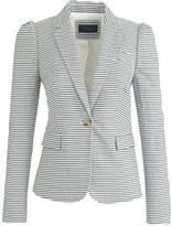 J.Crew Puff-sleeve blazer in seersucker