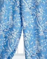 """Legacy Two 50"""" x 96""""L Pagoda Garden Toile Curtains"""