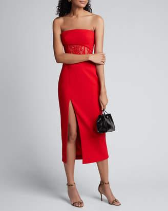 Rasario Strapless Lace-Waist Dress