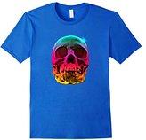 Ripple Junction Men's Rainbow Skull Small