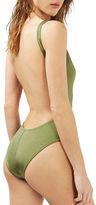 Topshop Pamela Solid One-Piece Swimsuit