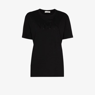 Valentino VLTN sequin logo T-shirt