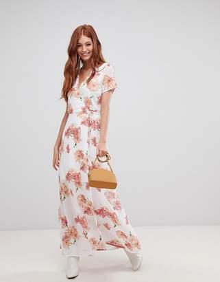 Vero Moda wrap dress-White