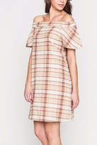 Movint Off The Shoulder Ruffle Dress