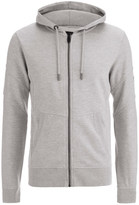 Smith & Jones Men's Amorino Hoody - Light Grey Marl