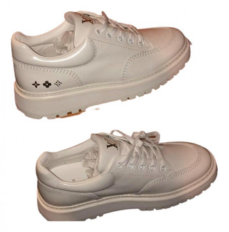 Louis Vuitton White Patent leather Trainers