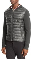 Moncler Mixed Media Hooded Jacket