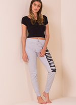 Missy Empire Jessieann Grey Brooklyn Joggers