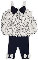Biscotti Infant Girls' Ruffled Tunic & Leggings Set - Sizes 9-18 Months