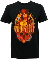 Global Motley Crue Men's MC Girl Slim-Fit T-Shirt L
