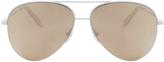 Victoria Beckham 18k Petite Victoria Sunglasses