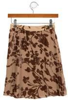 Rachel Riley Girls' Velvet Skirt