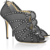 Karina studded leather shoe-boots