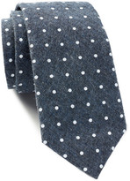 Tommy Hilfiger Doug Denim Dot Slim Tie