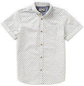 First Wave Big Boys 8-20 Printed Short-Sleeve Poplin Shirt