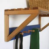 a+b furniture Oak Peg Shelf