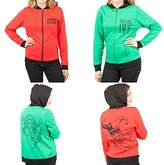 DC Comics Harley Quinn & Poison Ivy Reversible Womens Hoodie Jacket XXL