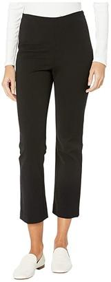 Vince Crop Flare (Black) Women's Casual Pants