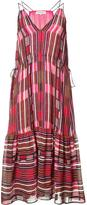 Apiece Apart triangle bust midi dress - women - Silk/Rayon - 0