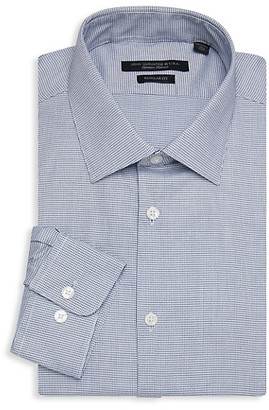 John Varvatos Spencer Regular-Fit Check Dress Shirt