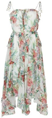 Zimmermann Floating silk dress