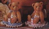 Cherished Teddies LITTLE BUNDLE OF JOY - BABY BOY ON PILLOW - 103659