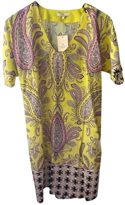 Charlotte Sparre Yellow Silk Dress for Women