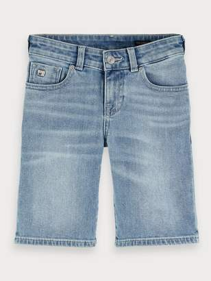 Scotch & Soda Strummer Shorts - Cool Pool Skinny fit