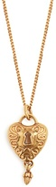 Chloé Collected Hearts heart-embellished necklace
