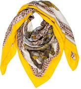 Hermes La Danse du Cheval Marwari Silk Cashmere Shawl