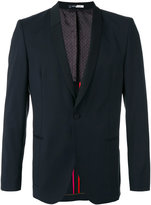 Paul Smith shawl lapel blazer - men - Viscose/Mohair/Wool - 52