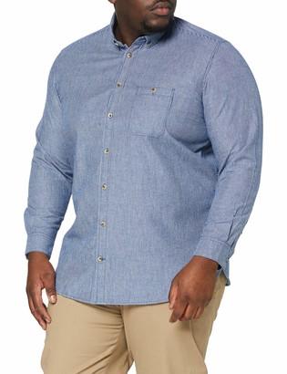 TOM TAILOR Men+ Men's Casual Striped T-Shirt - Blue - 3XL