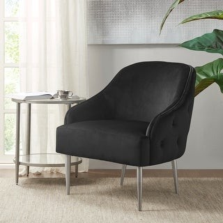 Madison Home USA Garyn Black Accent Chair