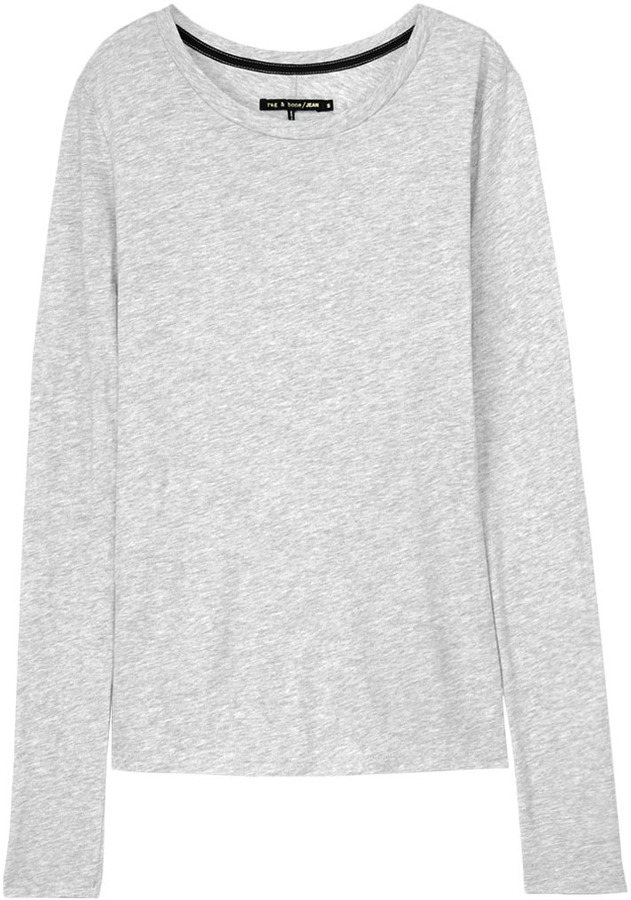 Rag and Bone Classic Long Sleeve Tee