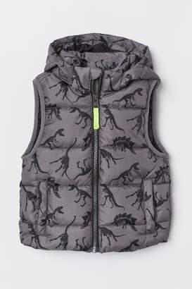 H&M Padded Vest - Gray