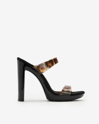 Express Steve Madden Glassy Heeled Sandals