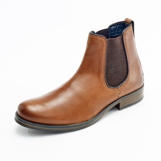Curito Clothing Curito Bradwell Men's Oiled Leather Chelsea Boots - Tan