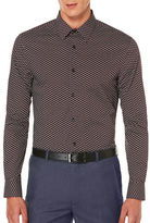 Perry Ellis Regular Fit Printed Shirt